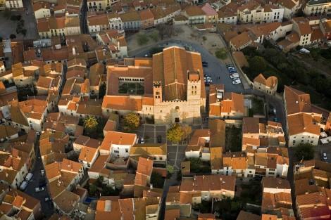 La cathédrale d'Elne photographiée par Frédéric Hédelin